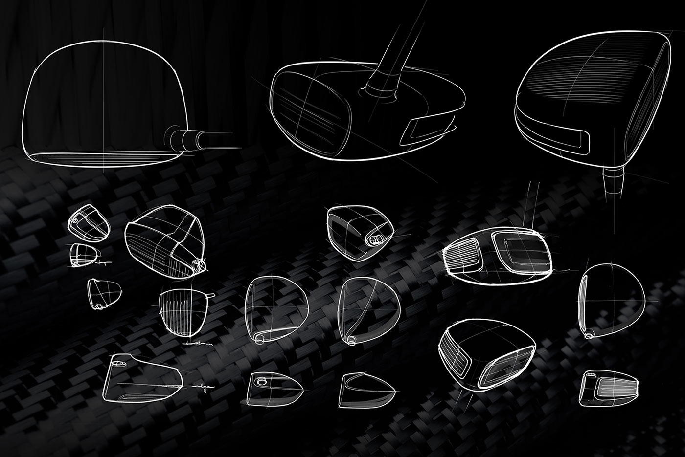 Krone golf high end drivers envary for Industrial design startups